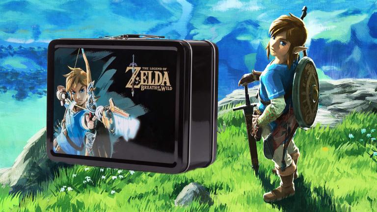 Zelda Breath of the Wild : la lunchbox aux couleurs du jeu Nintendo Switch