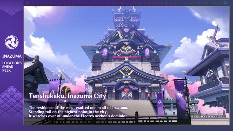 Genshin Impact : Des images de la région d'Inazuma
