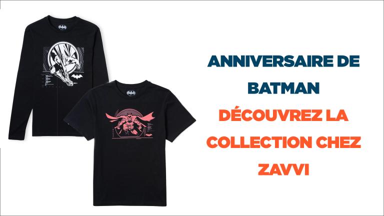 Anniversaire de Batman : découvrez la collection de vêtements de l'homme chauve-souris