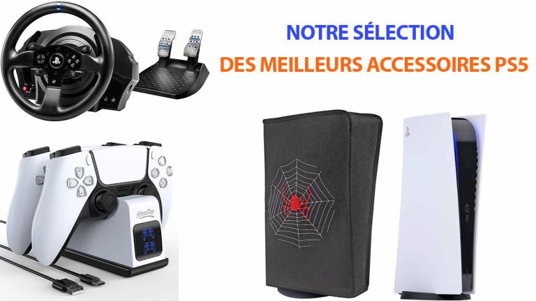 PS5 : casques, manettes, chargeurs... Notre sélection des meilleurs accessoires
