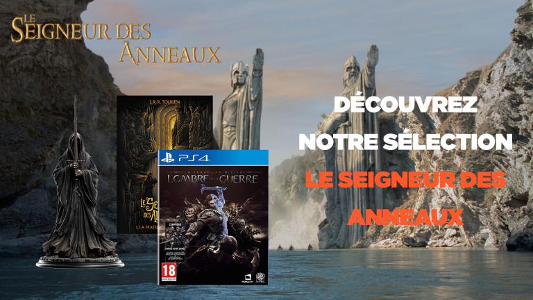 Le Seigneur des Anneaux : jeux, Blu-ray, t-shirts, posters, goodies... Notre sélection des meilleures offres