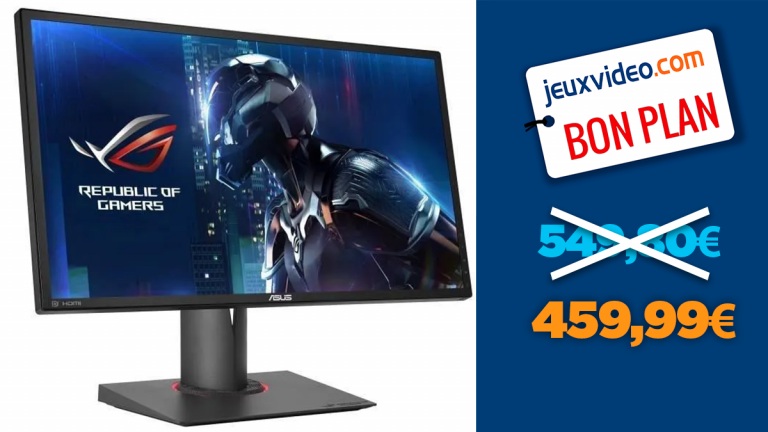 """Promo Écran PC gamer : -16% sur l'Asus ROG 24"""" FHD 1ms 180Hz"""