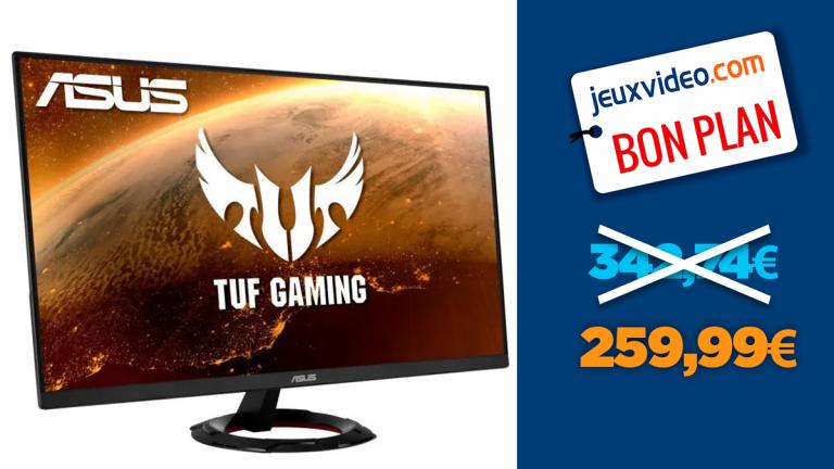 """Promotion sur l'écran PC Gamer Asus TUF 27"""" IPS FHD"""