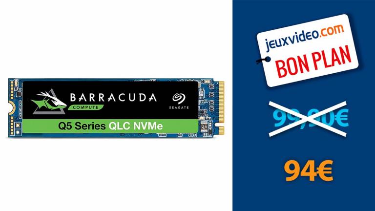 SSD NVMe 1 To à moins de 95€ pour booster votre PC