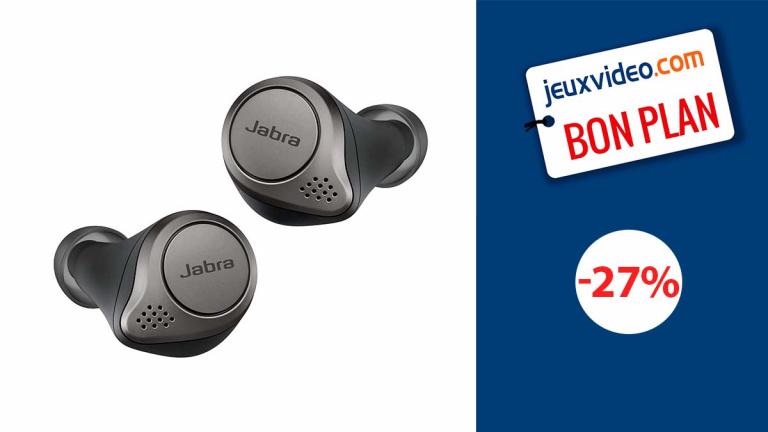Jabra Elite 75t : Des écouteurs Bluetooth haut de gamme en promotion de 27%