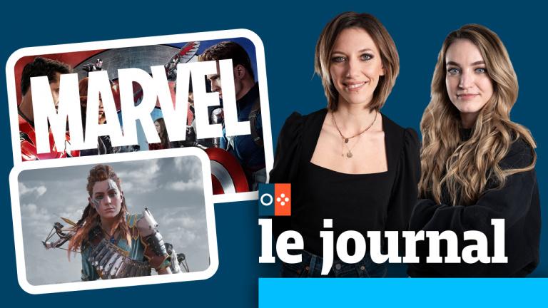La direction que prend Marvel, Aloy d'Horizon : Zero Dawn qui s'impose partout, on en parle dans JV le journal à 12h30