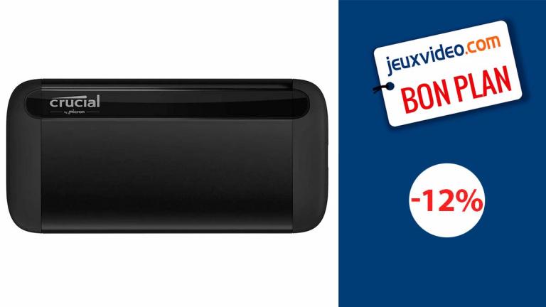 Crucial CT1 : Le SSD portable Externe de 1To pour vos consoles et PC