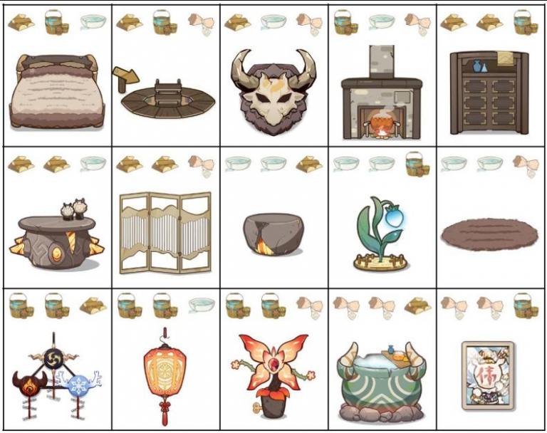 """Genshin Impact, l'événement web """"Atelier Brutorêveur"""" : Primo-Gemmes et décorations pour votre maison à la clé"""