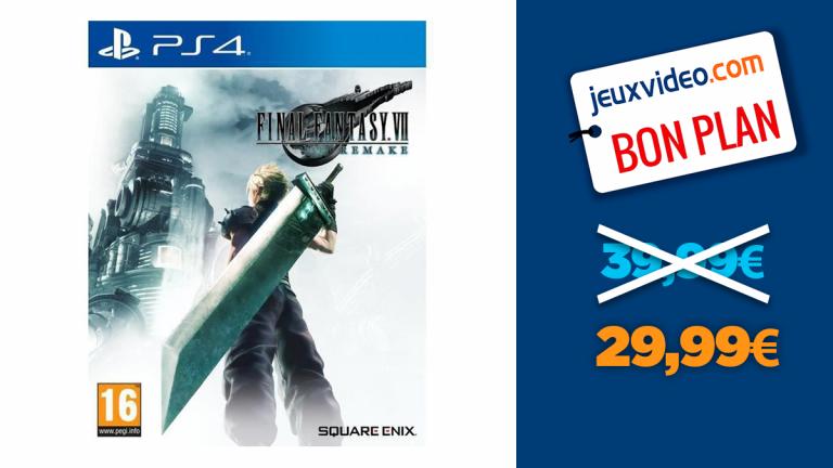 FF7 Remake sur PS4 à moins de 30€