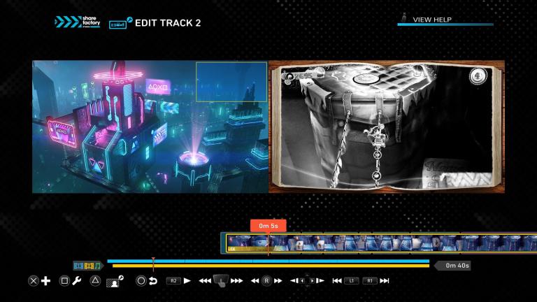 PS5 : La création de vidéos fait peau neuve !