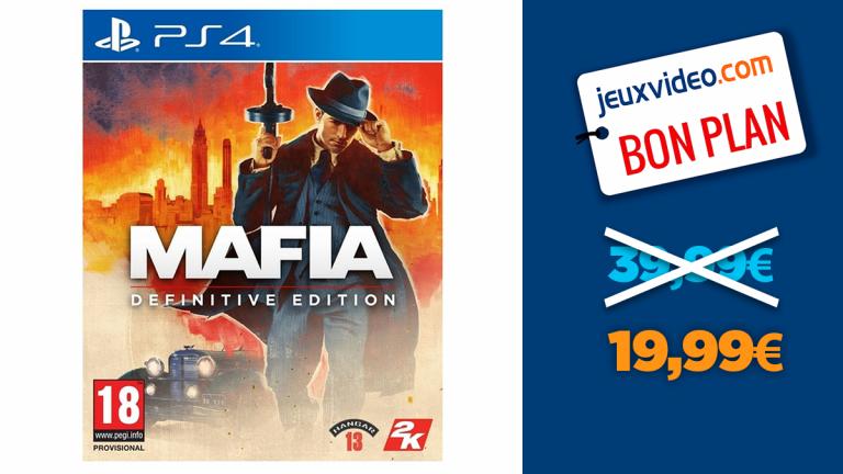 -50% sur Mafia Definitive Edition sur PS4