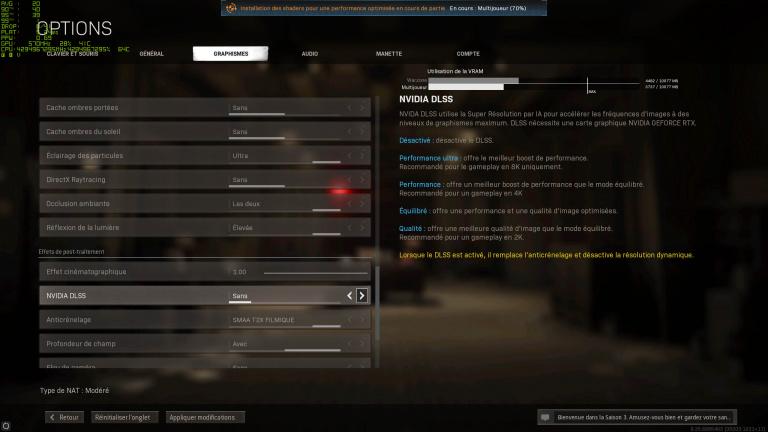 Call of Duty Warzone - on a testé le DLSS… et c'est très impressionnant