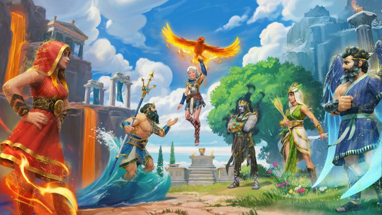 Immortals Fenyx Rising : Les Dieux Perdus, le DLC vous emmène à Pyrite dès aujourd'hui