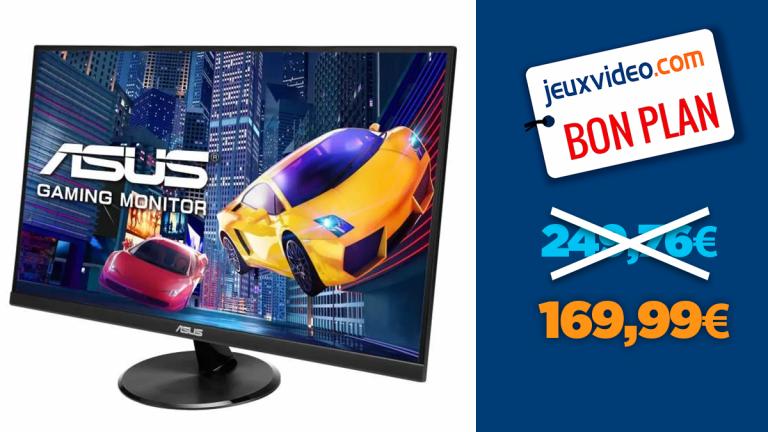 """L'écran PC gamer Asus 27"""" IPS FHD 1ms en promo à -30%"""