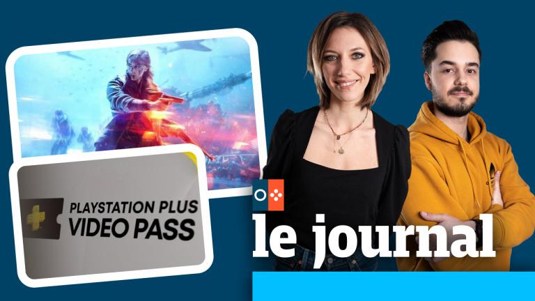 Le retour de Battlefield, le PlayStation Plus Video Pass, on en parle dans JV le journal à 12h30