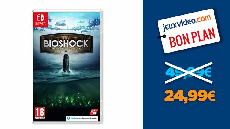 -50% sur la Bioshock : The Collection sur Nintendo Switch