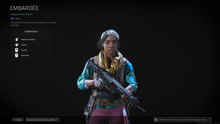 Call of Duty Warzone, saison 3 Black Ops : missions d'opérateur Zeyna, liste et guide complet