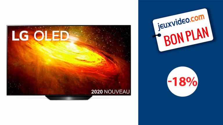 L'excellente TV OLED LG BX55 avec HDMI 2.1 à prix canon