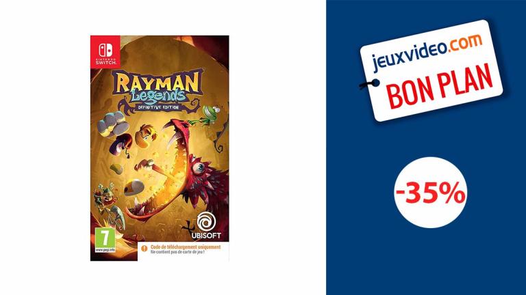 Promo Nintendo : Rayman Legends Definitive Edition à moins de 13€ !