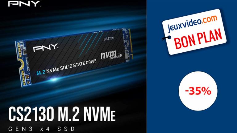 SSD NVMe PNY : Un modèle 6 fois plus rapide que les versions SATA