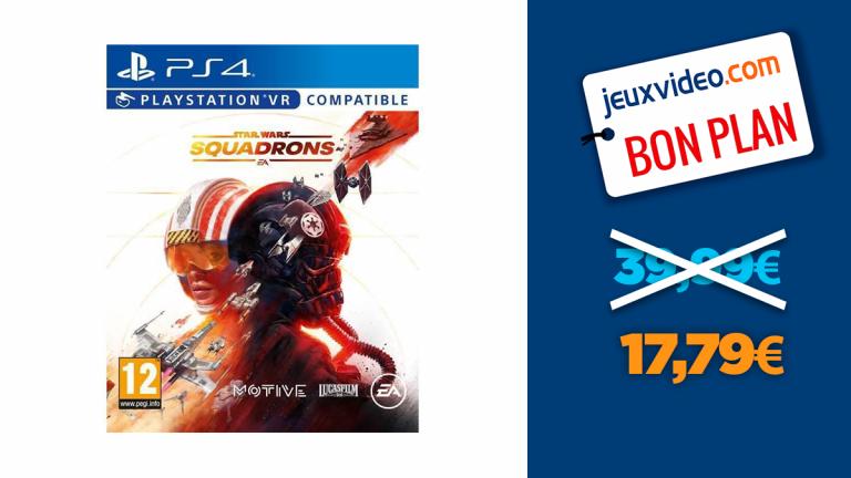 Star Wars Squadrons PS4 à moins de 18€