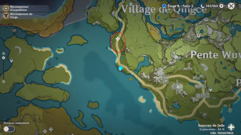 Genshin Impact, comment farmer un maximum de bois en peu de temps, les meilleures routes