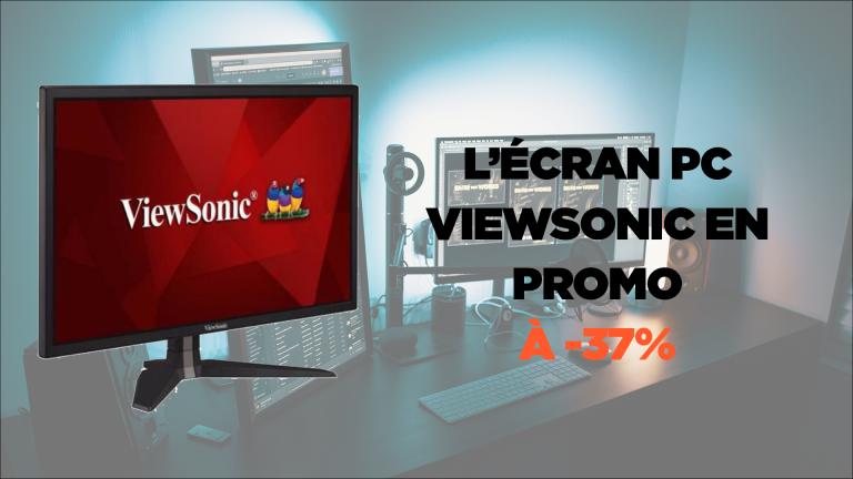 """L'écran PC gamer Viewsonic VX245824"""" FHD, 1ms à moins de 150€"""