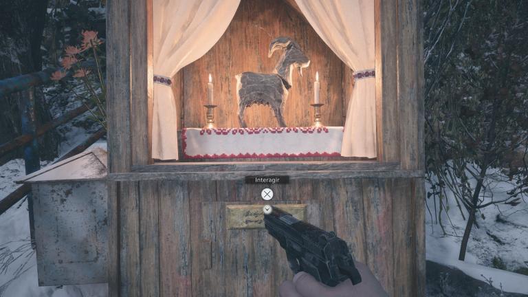 Trouver les chèvres en bois