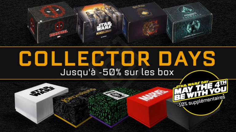 May the 4th be with you : Jusqu'à -60% sur les Wootbox Star Wars !