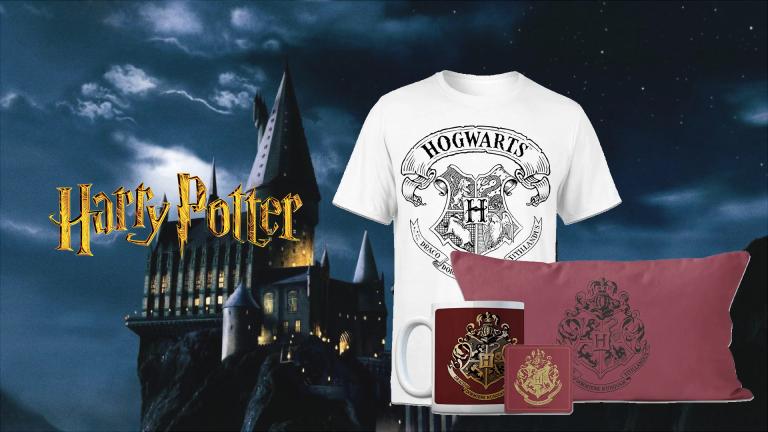 Harry Potter : le pack T-shirt+ Mug+ coussin+ dessous de verre à moins de 27€