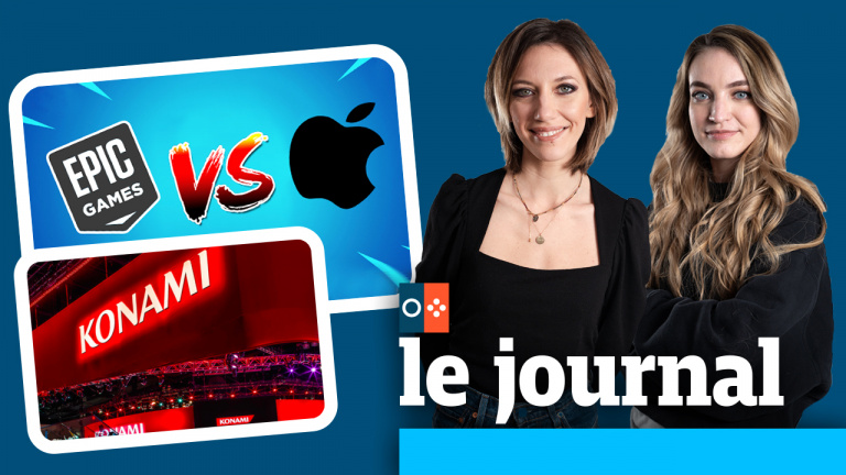 Epic vs Apple, Konami abandonne l'E3... On en parle dans JV le journal à 12h30