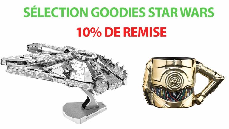 Notre sélection des meilleurs objets collector Star Wars en promotion