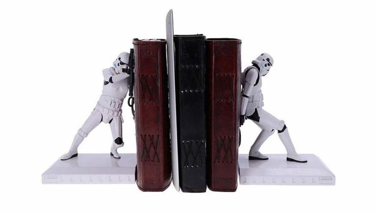 Des reposes livres Stormtroopers pour décorer votre bibliothèque en mode Star Wars !