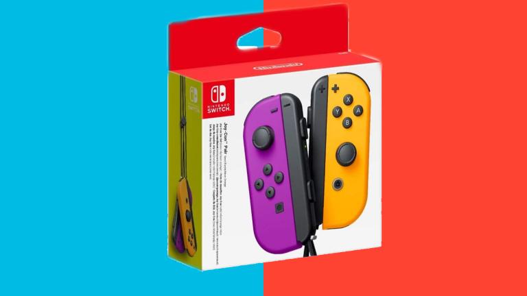 -32% sur les Joy-Con Nintendo Switch Violet & Orange