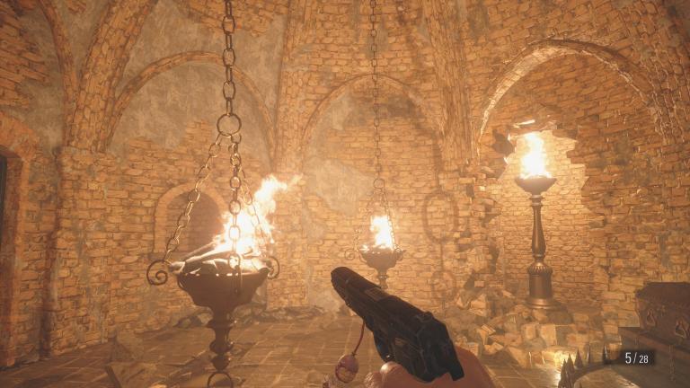 Les trésors du Chapitre 2 : Château Dimitrescu
