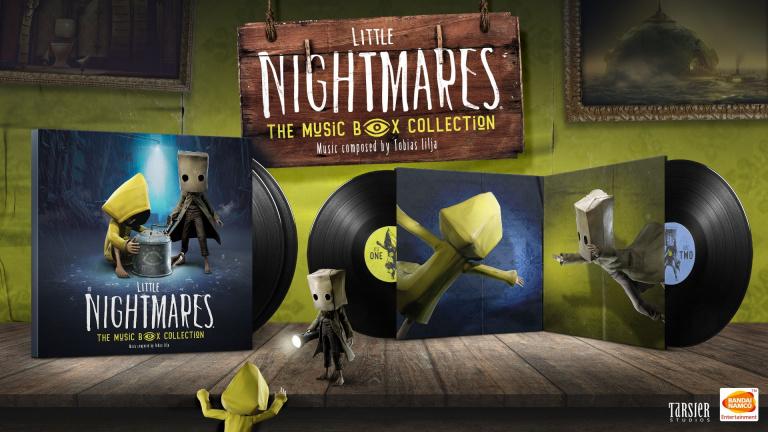 Little Nightmares 1 et 2 : Un double album vinyle annoncé par Bandai Namco