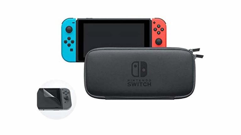Protégez votre Nintendo Switch grâce à la sacoche officielle en forte promotion