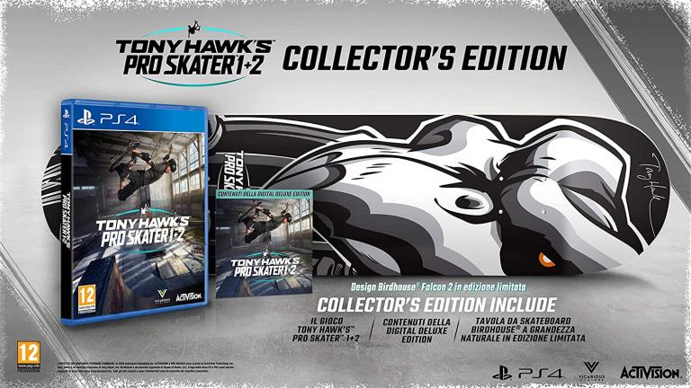 La collector de Tony Hawk's Pro Skater 1+2 de nouveau disponible