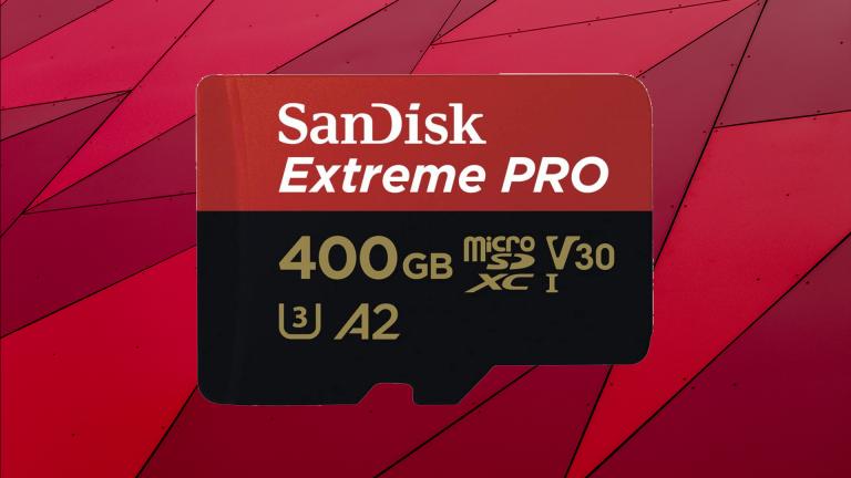 La carte MicroSD SanDisk Extreme Pro 400Go avec une promotion-choc !