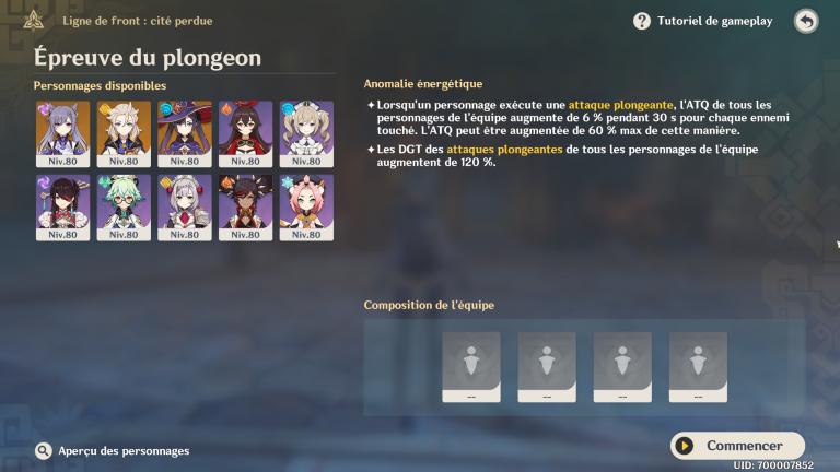 """Genshin Impact, notre guide de l'événement """"Ligne de front cité perdue"""" : Primo-gemmes, test de personnages 5 étoiles (Epreuves 5 et 6)"""