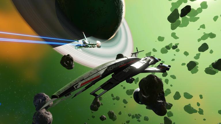 No Man's Sky rend hommage à Mass Effect dans un easter-egg