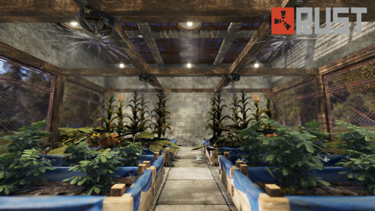 Rust Guide: Start farming, Produce your food