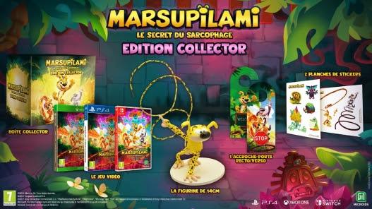 Marsupilami Le Secret du Sarcophage : Une nouvelle aventure annoncée par Microids