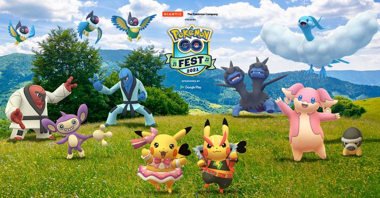Pokémon GO Fest, un festival de musique pour les 25 ans de Pokémon