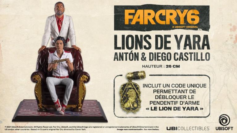 Far Cry 6 : Une statuette Collector avec Anton Castillo et son fils qui force le respect