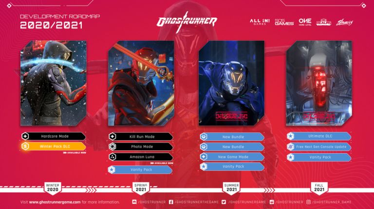 Ghostrunner : une grosse mise à jour avec deux nouveaux modes pour cet été