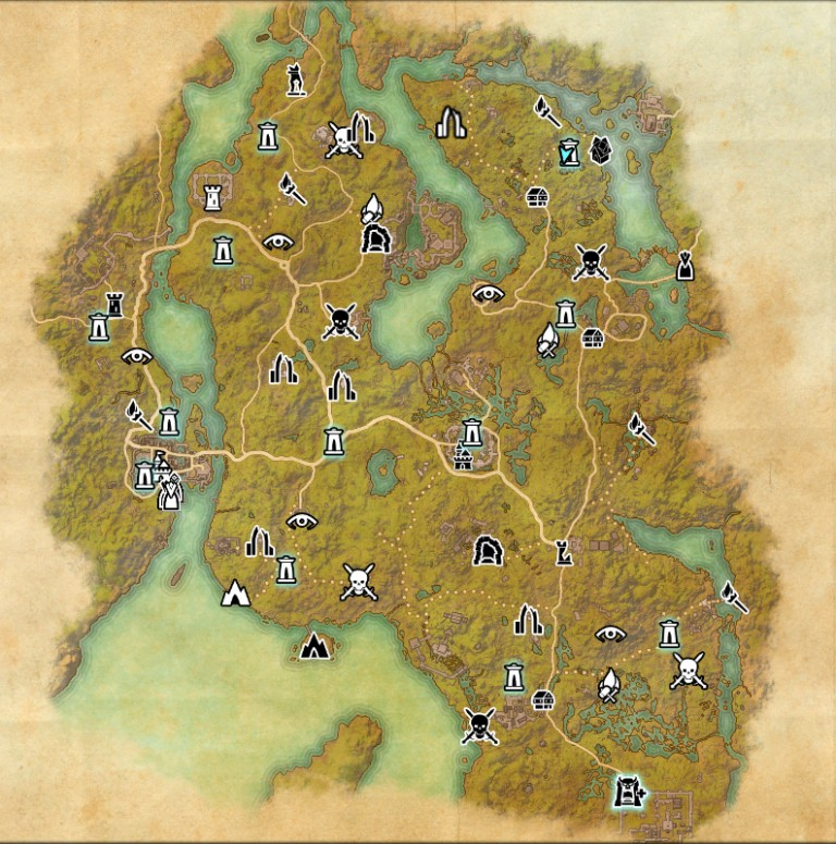 The Elder Scrolls Online, Blackwood : notre guide du Bois noir, la nouvelle zone de jeu