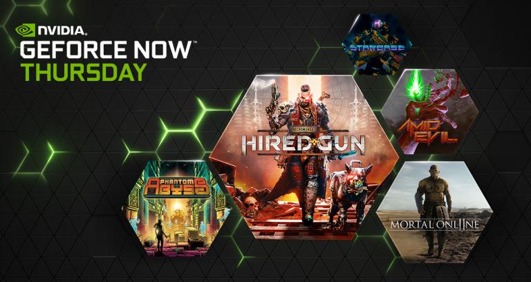 GeForce Now : 38 nouveaux jeux en juin, les 13 de cette semaine déjà dévoilés