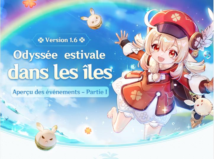 Genshin Impact, les nouveaux événements de la version 1.6