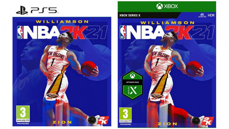 NBA 2K21 PS5/Xbox Series : Le jeu de basket à -50% pour les Play-offs !